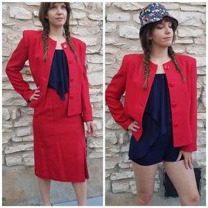 Vintage Michelle Stuart Skirt Suit 8